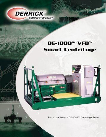 DE-1000™ VFD™ Smart Centrifuge - Aker Solutions