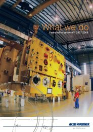 What we do - Aker Solutions