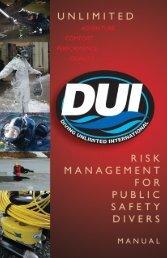 PS Diver Risk Management - Scuba Center