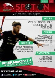 Issue 21 - Squash Wales
