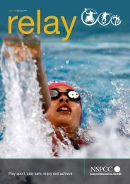 Relay issue 16 (CPSU newsletter, Spring 2011) - Squash Wales
