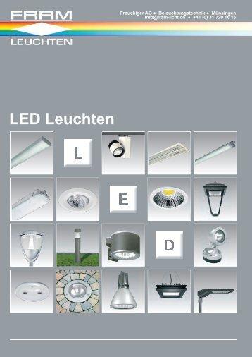 LED Prospekt - Frauchiger AG
