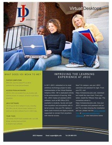VDI Information flyer