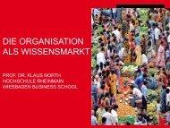 Download Präsentation - Agenda Wissen