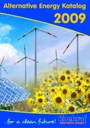 O U R N EW PR O D U C TS - Koekraf Alternative Energy