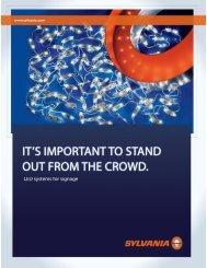 led systems for signage - Osram Sylvania