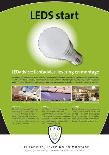 LICHTADVIES, LEVERING EN MONTAGE. - LEDadvice Nijmegen