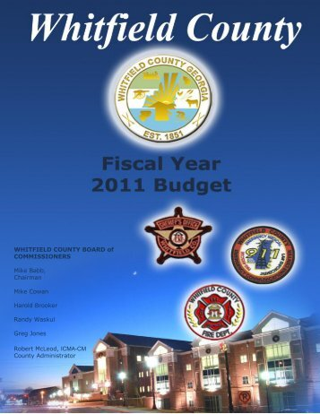 FY 2011 - Whitfield County, Georgia