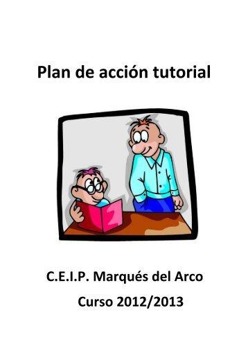 Plan de acción tutorial - CEIP MARQUÉS DEL ARCO