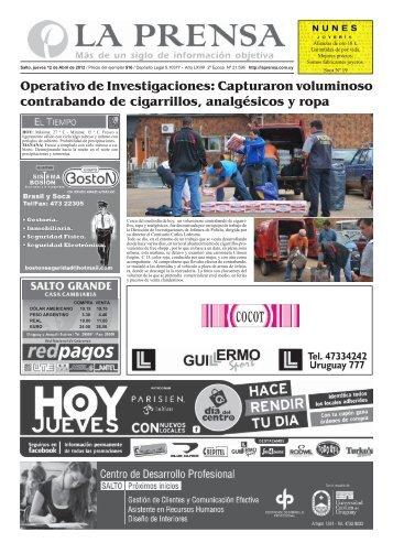 sábado 18 de junio DE 2011 - La Prensa | Edición Web