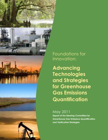 Advancing Technologies and Strategies for Greenhouse Gas ...