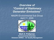 Control of Stationary Generator Emissions - Energetics Meetings ...
