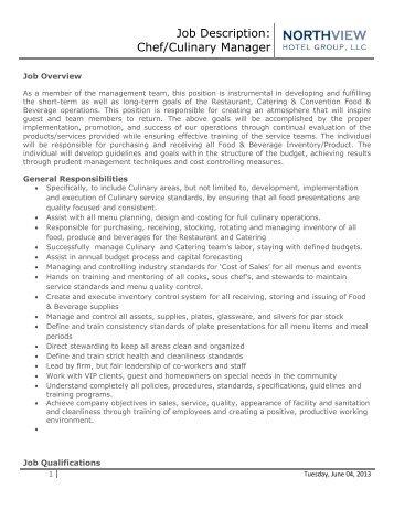 job description food beverage supervisor running y ranch banquet chef job description pizza chef job - Banquet Chef Job Description