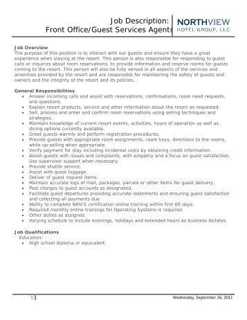 Job Description Sous Chef Running Y Ranch