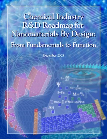 Chemical Industry R&D Roadmap for Nanomaterials By ... - Nanowerk