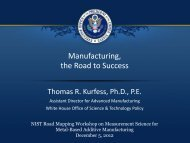Manufacturing, the Road to Success - Energetics Meetings and Events