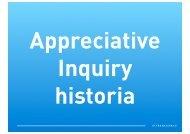 Hur Appreciative Inquiry uppstår, 1980-1985? - Styrkebaserad
