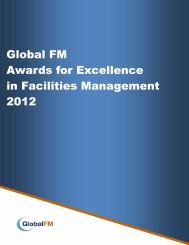 Global FM Awards for Excellence in Facilities Management ... - safma