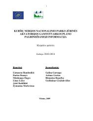 GP lietuviškai - Marine Protected Areas in the Eastern Baltic Sea