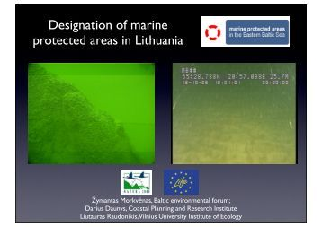 Designation of marine protected areas in Lithuania