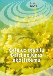 Ceļā uz stabilu Baltijas jūras ekosistēmu - Marmoni