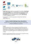 Ceļā uz stabilu Baltijas jūras ekosistēmu - Marmoni - Page 2