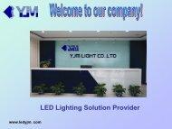 Application - LED lighting