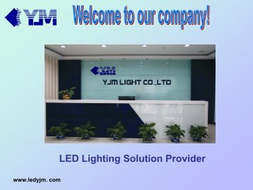 Application - LED lighting