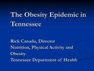 How the Environment Affects Obesity