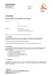 Avtal Produkter - Region Skåne