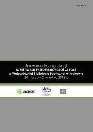 Sprawozdanie z organizacji IX FESTIWALU ...