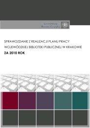 sprawozdanie za I polrocze 2010 na www - Centrum Informacji ...