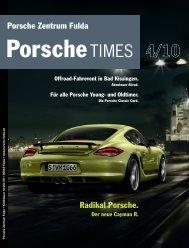 Für alle Porsche Young- und Oldtimer. - Porsche Zentrum Kassel