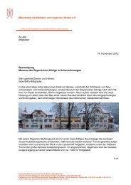 weiteren Informationen finden Sie hier in der ... - Aiv-muenchen.de
