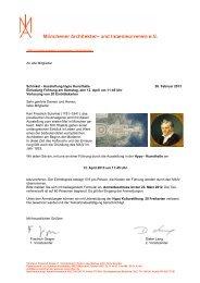 Einladung Schinkel mail - Aiv-muenchen.de