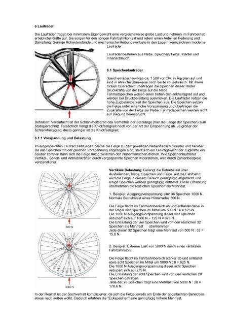 Fahrradspeichen spannen