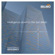 Intelligence down to the last detail. - Belimo