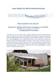 Neue Staffel der BR-Architekturfilmreihe - Aiv-muenchen.de