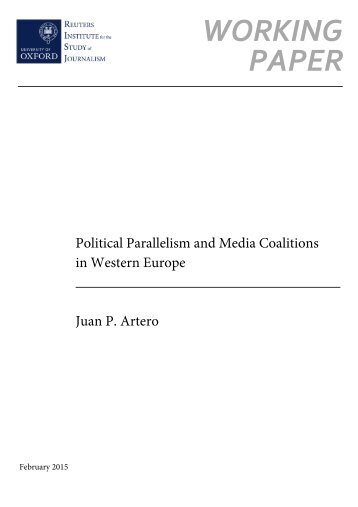 Political Parallelism and Media Coalitions