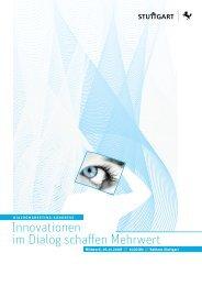 Innovationen im Dialog schaffen Mehrwert - dialogkongress-stuttgart ...