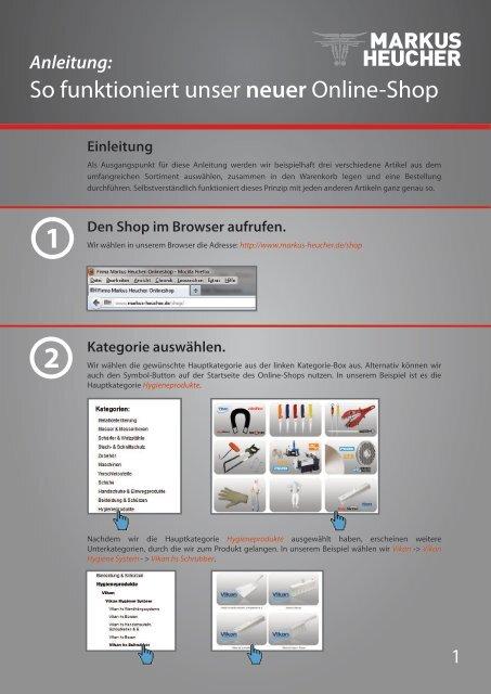 So Funktioniert Unser Neuer Online Shop Markus Heucher