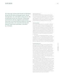 Stakeholder-Bericht - Geschäftsbericht 2011 - Liechtensteinische ...