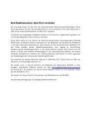 Grußaktion 2011 - Arbeitsgruppe für verfolgte GewerkschafterInnen ...