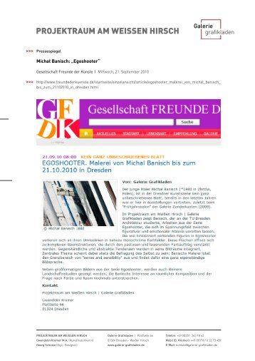 Pressetext als PDF - Galerie Grafikladen