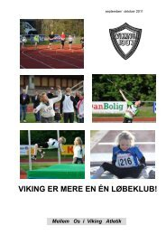 MellemOs sep 11 - Viking Atletik