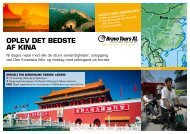 OPLEV DET BEDSTE AF KINA - Bornholms Tidende
