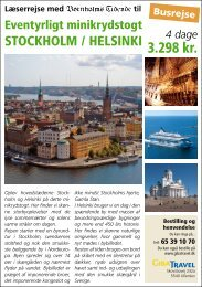 GIBA Travel - Stockholm/Helsinki 25. august 2013 - Bornholms ...