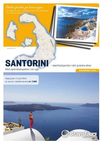 SAntorini - Bornholms Tidende