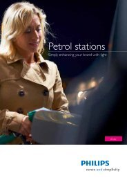 Petrol stations - Philips Lighting