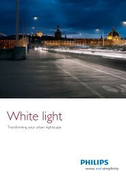 White light - Philips Lighting